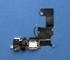 Шлейф зарядки Apple iPhone 5 нижний