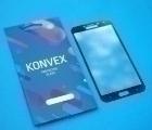 Защитное стекло Samsung Galaxy J4 чёрное на весь экран