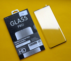 Защитное стекло Motorola Edge полное покрытие / полный клей (Pro+)