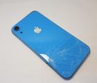 Рамка корпуса корпус Apple iPhone XR C-сток синий