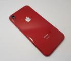 Рамка корпуса корпус Apple iPhone XR C-сток красный
