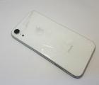 Рамка корпуса корпус Apple iPhone XR А-сток серебро