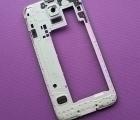 Рамка корпуса боковая Samsung Galaxy S5 А-сток серебро