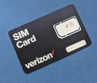 Сим карта американская с балансом Verizon (40$) prepaid