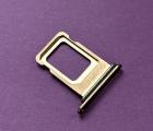 Сим лоток Apple iPhone XS Max оригинал золотой