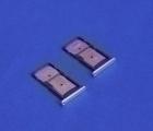 Сим лоток Motorola Droid Turbo 2 / Moto X Force серебристый - изображение 4