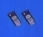 Сим лоток Motorola Moto Z2 Force чёрный - изображение 3