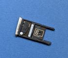 Сим трей Motorola Moto Z2 Play золотой - фото 2