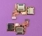 Сим / флеш коннектор LG Optimus F6
