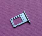 Сим трей Apple iPhone XR голубой