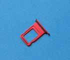 Сим лоток Apple iPhone XR красный
