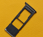 Сим лоток Motorola Moto G7 Plus чёрный С-сток
