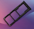 Сим лоток Samsung Galaxy A20 (2019) a205f чёрный