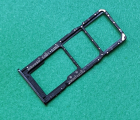 Сим лоток Samsung Galaxy A51 чёрный оригинал с разборки