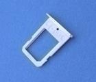 Лоток сим Samsung Galaxy S6 Edge серебро