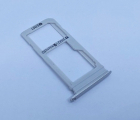 Лоток сим Samsung Galaxy S7 Edge (2 sim) серый новый