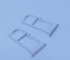 Сим лоток Samsung Galaxy S7 серебро 2 сим