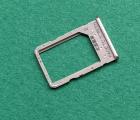 Сим лоток Xiaomi Redmi 6a золотой (sim 2) оригинал