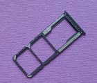 Сим лоток Xiaomi Redmi 8 чёрный
