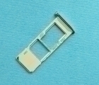 Сим лоток Motorola Moto G7 серебро