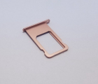 Сим лоток Apple iPhone 6s розовый (rose gold)