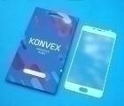 Защитное стекло Meizu U20 Konvex полное покрытие белое