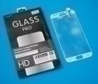 Защитное стекло Samsung Galaxy J5 (2017) белое полное покрытие
