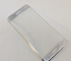 Защитное стекло Samsung Galaxy S7 Edge серебро на весь экран