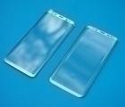 Защитное стекло Samsung Galaxy S8 Plus серебро full