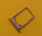 Лоток флеш карты Nokia 3.1 розовый